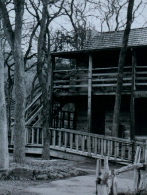 Haunted house at Log Cabin Village